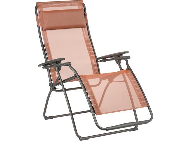 Lafuma Mobilier Futura Relaxsessel Batyline Terracotta Campzde